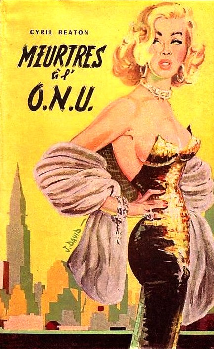 French Pulp Cover, Meurtres à l' O.N.U.